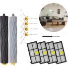 Stofzuiger onderdelen – Geschikt voor iRobot – Roomba 800/900 serie – Borstel Kit – HEPA Filter – 14-delige set – Onderhoudsset – Zijborstel - Stofzuiger Vervangingsset