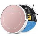Loft Home® Robotstofzuiger   Stofzuiger   Robot Stofzuiger   Robotstofzuiger met slimme navigatie   Stofzuiger zonder zak   Draadloos   Rose   Met Dweilfunctie   Incl. Oplaadstation en afstandsbediening